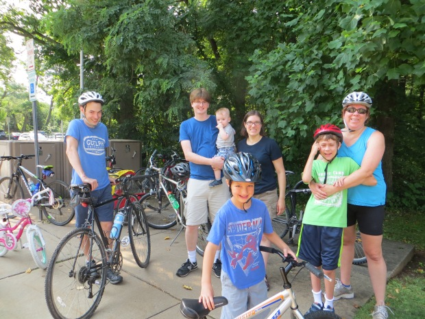Kidical Mass Rockville Swim Center ride